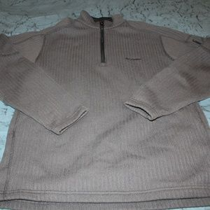 Mens Columbia Knit Pullover L